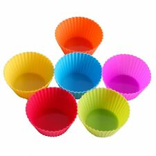 New Arrive 24-pack Silicone Baking Cup Cupcake Liners Muffin Cups