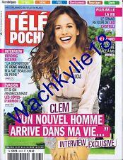 Télé Poche n°2613 du 12/03/2016 Lucie Lucas Clem Véronique Dicaire
