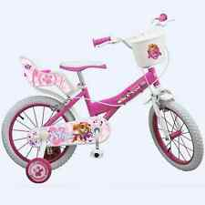 16 Zoll Kinderfahrrad Fahrrad Mädchen Disney Paw Patrol 5 6 7 8 Jahren Neu skye