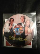 Trial and Error- Charlize Theron, Jeff Daniels, Rip Torn & Michael Richards New!