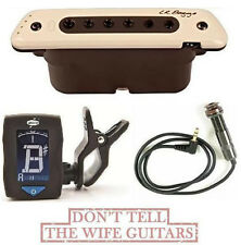 LR Baggs M80 Acoustic Guitar Soundhole Pickup Body ( FREE DUNLOP CLIP ON TUNER )