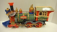 ULTRA RARE NEW BRIGHT HOLIDAY EXPRESS ENGINE SANTA'S GREAT HOLIDAY SPECIAL TRAIN