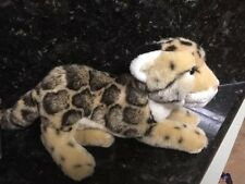 "Webkinz Signature Endangered Clouded Leopard  Plush 13"" Stuffed Animal"