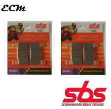 Kawasaki ZX-10R Front Brake Pads SBS 806RS Sinter 2008-2015