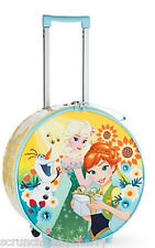 Disney Store Frozen Fever Light-Up Rolling Luggage Suitcase 2016