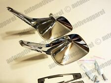VINTAGE CHROME DOOR MIRRORS CHEVY OLDS PONTIAC BUICK CAMARO CHEVELLE FIREBIRD