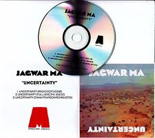 JAGWAR MA Uncertainty 2014 UK 3-track promo test CD
