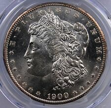 1900 O MORGAN DOLLAR PCGS MS 64 BLAST WHITE AND A WEE BIT PL LOOKS GREAT