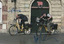 """Dany Boon & Kad Merad """"Bienvennue chez les Ch´tis"""" Autogramme signed 20x30 cm Bi"""
