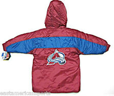 Colorado Avalanche NHL Toddler Puffy Winter Jacket Long Style Coat Kids Boys 2T