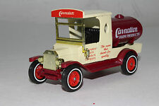 MATCHBOX MODELS OF YESTERYEAR 1912 FORD MODEL T, CARNATION MILK, NICE, ORIGINAL
