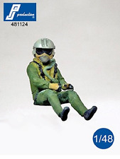 PJ Production 481124 1/48 Dassault Rafale pilot seated in aircraft Resin Figure