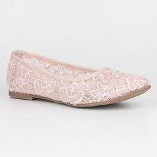 Tamaris Trend Women's UK 6.5 Rose Embroidered Mesh Ballerina Low Heel New Shoes