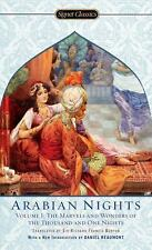 Arabian Nights, Volume I: The Marvels and Wonders of The Thousand and -ExLibrary