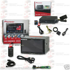 "PIONEER AVH-X5800BHS 7"" LCD DVD CD BLUETOOTH HD RADIO PLUS GPS NAVIGATION SYSTEM"