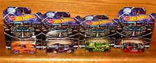 Brand New 2015 Hot Wheels Happy Halloween  Exclusive Complete Set of 4 Cars