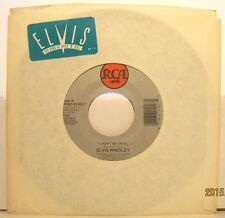 "Elvis Presley ""Don't be Cruel"" + ""Ain't That Lovin you"" 1992 RCA Records 45rpm"