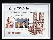 102944/ Gibraltar 1986 - Bl. 10 - Royal Wedding - **