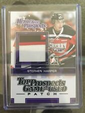 2013-14 Heroes & Prospects PATCH Stephen Harper SP 13/14 ITG In The Game Top !!!