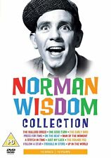 NORMAN WISDOM COMPLETE SERIES COLLECTION DVD BOX SET + BONUS EXTRA 12 Sealed UK