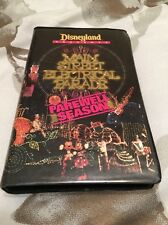 Disneyland Main Street Electrical Parade Farewell Season VHS Video Tape