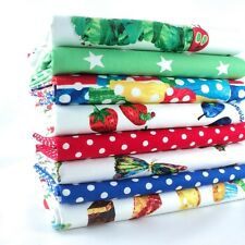 FQ Bundle - The Very Hungry Caterpillar - Brights / Multi x 8 - Fat Quarter - Co