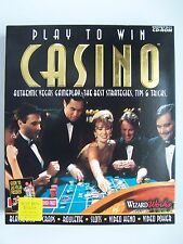 Play to Win CASINO by Wizard Works PC Software Game