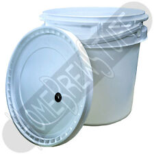 2 Gallon Fermenting Bucket w/ Lid for Beer Wine Mead Homebrewing