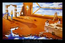 """FOREVER 27 (LAMINATED) POSTER """"MORRISON COBAIN HENDRIX JOPLIN"""" (61x91cm) NEW ART"""