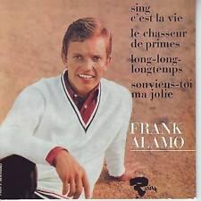 CD EP FRANK ALAMO ** SING C'EST LA VIE ** LE CHASSEUR DE PRIMES