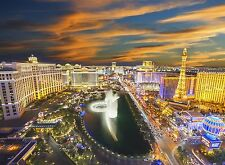 Mural De Pared Foto Wallpaper 315x232cm Las Vegas Usa Noche City View Home Decor