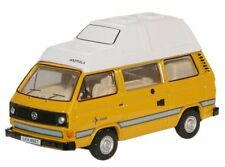 Oxford Diecast Bamboo Yellow VW T25 Camper 76T25006  (OO & HO)