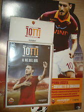DVD N°1 + BOX COFANETTO FRANCESCO TOTTI L'UOMO DEI RECORD IL RE DEL GOL AS ROMA