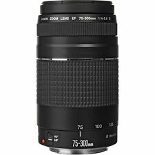 Canon EF 75-300mm f/4-5.6 III Lens 75-300 f4-5.6 for T3i T4i T5i 60D 70D New