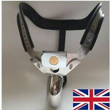 Full Male Chastity Belt Device Stainless Steel high hip black new 2016 65-110cms