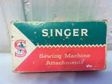 Lot of vintage Singer sewing machine attachments 161290 Simanco