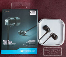 BNIB CX3.00 BLACK  In-Ear Earphones Headset Headphones