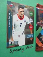 Copa America Chile 2015 Limited Edition Vidal Alexis Sanchez  Adrenalyn