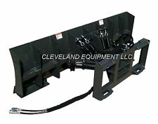 "NEW 72"" SNOW PLOW / DOZER BLADE ATTACHMENT Skid Steer Loader Bobcat Caterpillar"