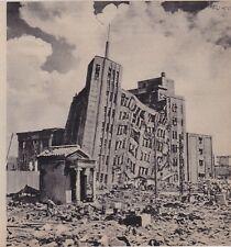1948  --  JAPON  TREMBLEMENT DE TERRE DE FUKUI  3G665
