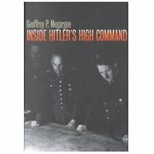 Inside Hitler's High Command by Geoffrey P. Megargee (2000, Paperback)