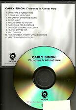 CARLY SIMON Christmas is almost here ADVNCE PROMO DJ CD JOHN LENNON TRK Beatles