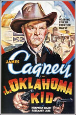 "1939 Oklahoma Kid James Cagney  Movie Poster  Replica 13x19"" Photo Print"