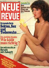 Kult-Illustrierte NEUE REVUE Nr. 50 von 1978, Urlaub 1979, Berufe mit Zukunft