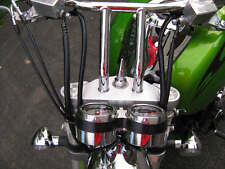 KAWASAKI MEANSTREAK CHROME STEERING STEM SPIKE vn1600 yoke nut vn mean vn1500