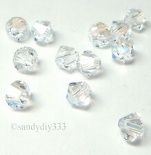 144x SWAROVSKI 5328 MOONLIGHT 4mm XILION BICONE CRYSTAL BEAD