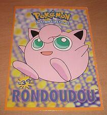 CP CARTE POSTALE POKEMON #39 RONDOUDOU JIGGLYPUFF CARD NEUVE - NEW