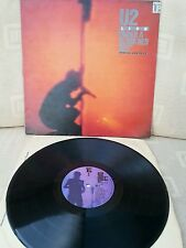 Lp record u2 under a blood red sky in good condition