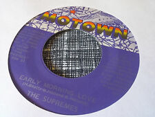 The Supremes 45 Early Morning Love/I'm Gonna Let My Heart Do the Walking NM-
