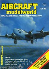 JUNKERS F-13 Vac-form kit build -  Aircraft Modelworld Magazine October 1985